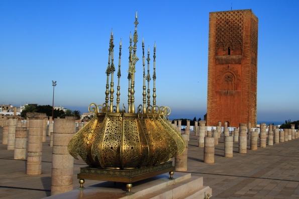 La Mezquita de Hassan y la torre